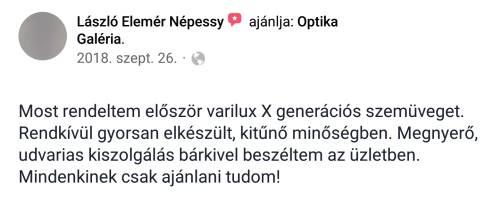 Facebook vélemény kép