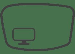 Monitorszűrő lencse